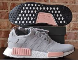 adidas shoes nmd grey and pink. adidas nmd r1 w grey vapour pink light onix women\u0027s nomad shoes nmd and