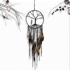 Dream Catchers India Adorable India Retro Life Tree Feather Dream Catcher Wind Chimes Hanging
