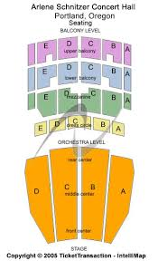 Arlene Schnitzer Concert Hall Seating Chart Arlene Schnitzer Concert Hall Schedule Scxhjd Org
