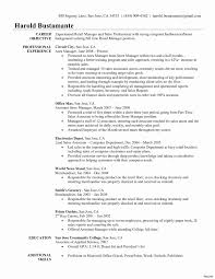50 New Example Objective For Resume Resume Templates Blueprint