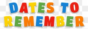 Image result for remember the date clip art