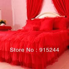 red bedding sets lace pink white lace rose bedding sets and duvet cover king queen double