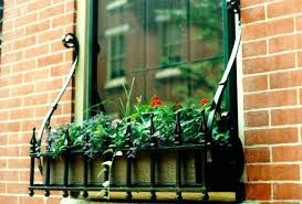 Decorative Window Boxes decorative wrought iron window boxes Aesthetic Appeal of Wrought 14