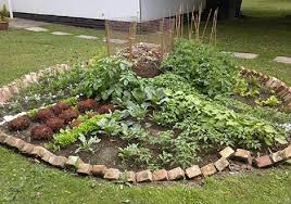 Keyhole Garden Design Classy Keyhole Garden Design Growing More With Fewer Paths By R Jamrok