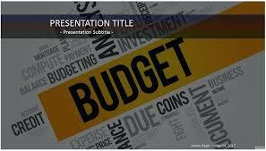 Free Bud Template Budget Presentation Download Professional