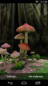 Mushroom 3d Live Wallpaper Data-src ...