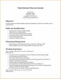 Flight Attendant Resume Example Flight Attendant Resume Example Examples Of Resumes 21