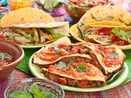 traditional mexican foods.  Foods A Plate Of Mixed Mexican Food In Traditional Foods