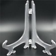 Plastic Stands For Display Bowl Display Stand Set Clear Plastic Display Stand Dish Rack Plate 83