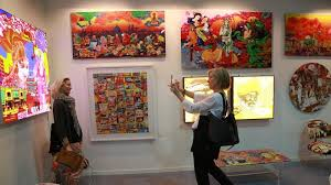 indian and international artists showcase their works at india art fair every year what will