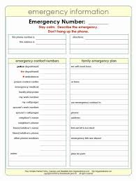 Emergency Phone Numbers Template Tinymcsmall Template