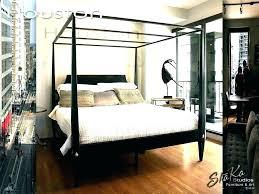 antique canopy bed – neela