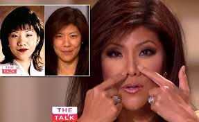 makeup julie chen says she never had a nose job black hair a forum page 1