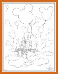 surging disney castle coloring pages the best pict of popular and