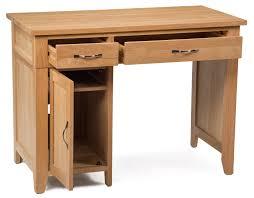 camberley oak single pedestal computer desk camberley oak 2 door