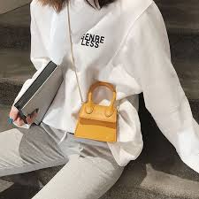 bags for women 2018 new oblique satchel fashion printed single shouldered chain bag women leather handbags