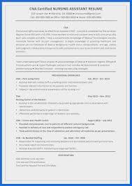 12 13 Cna Resume Objective For Hospital Lascazuelasphillycom