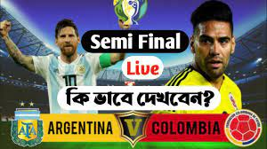 Watch Argentina vs Colombia Live Stream ...