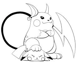 Pikachu Coloring Sheet Is Lose To Coloring Page Pikachu Coloring