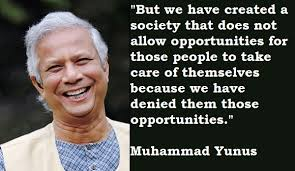 Quotes by Muhammad Yunus @ Like Success via Relatably.com