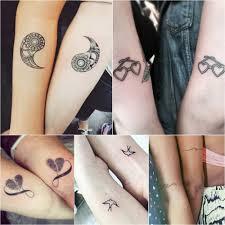 дружеские татуировки черно белые парные тату варианты