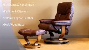 ekornes stressless craigslist. Beautiful Craigslist Stressless Kensington Recliner Chair And Ottoman Paloma Cognac Leather Teak  Wood Base By Ekornes  YouTube And Craigslist L