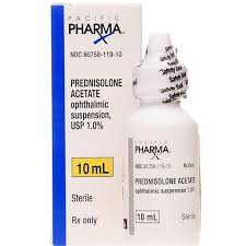 prednisolone acetate eye drops 1 parisons