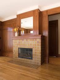 oceanside glass tile fireplace