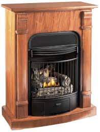 image of ventless natural gas fireplace insert