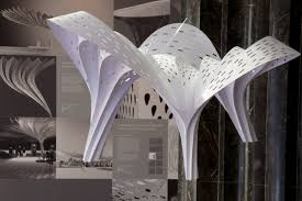 Shell Designs Shell Lace Structure Tonkin Lius Nature Inspired Structural