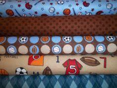 Sport theme quilt | ...Q U I L T S... | Pinterest | Baby boy ... & Quilt Shop Easy Rag Quilt Kit Sports Theme All Soft by beffie48 Adamdwight.com
