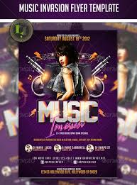 16 Band Flyer Template Photoshop Images - Photoshop Band Flyer ...