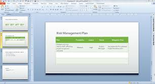 Free Business Plan Template For Powerpoint 2013