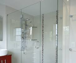 frameless shower doors glass to glass installation