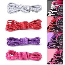 <b>New 1 Pair</b> Men Woman Safe Sports Lock Elastic Flat Lock <b>Laces</b> ...