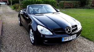 This was one of the first convertibles in modern times to use a folding hardtop, something that's become almost the norm since mercedes revived the concept that dates back to the 1930s. Video Review Of 2007 Mercedes Slk 280 Convertible For Sale Sdsc Specialist Cars Cambridge Youtube