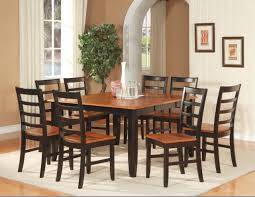 Home And Interior Ideas Black Wood Kitchen Table Dining Room Light