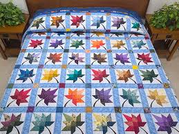 Autumn Splendor Quilt -- gorgeous made with care Amish Quilts from ... & Bright Autumn Splendor Quilt Photo ... Adamdwight.com