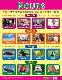 Noun Picture Chart Nouns Literacy School Poster