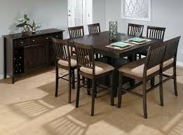 charming design of dining room table with bench seat square espresso teak wood dining table charming high dining