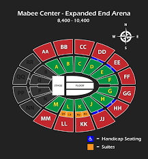 Mabee Center Tulsa Ok Seating Chart Maps Diagrams Pdfs Oru Conference And Event Services