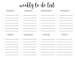 Blank To Do List Template Free Checklist Template Printable