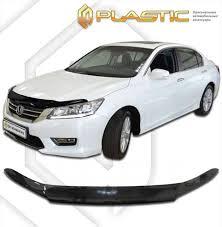 <b>Дефлектор капота CA</b> (мухобойка) Honda Accord 2013 ...