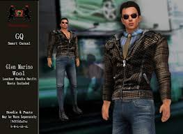 Second Life Marketplace - GQ Glen - Marino Wool Hoodie Outfit by ...