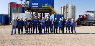 Nabors Well Service Last Month Nabors Pace M550 Rig M40 Crew Successfully Set A Well