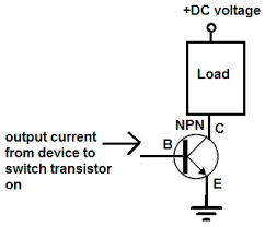 how to connect a transistor as a switch in a circuit transistor switch setup