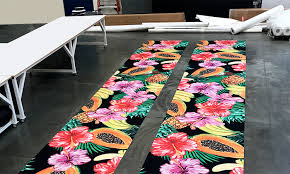 beautiful custom printed carpet