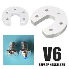 <b>Mayitr</b> 1pc <b>3D</b> Printers Accessories V6 Hotend J head Aluminum ...