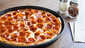 shreveport la june 29 a view of a pepperoni pan pizza at pizza hut on june 29 2018 in shreveport louisiana