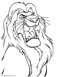 Small Picture Mufasa the Great The Lion King Coloring Page Download Print